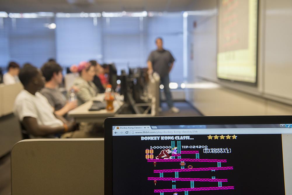 Adelphi game design and computer programming